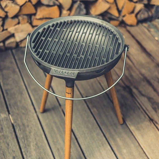 Yron gussgrill der bbq grill f r deinen garten balkon - Ofen fur garten ...