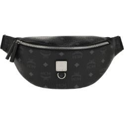 Photo of Mcm Fursten Visetos Belt Bag Small Black in schwarz Gürteltasche für Damen Mcm