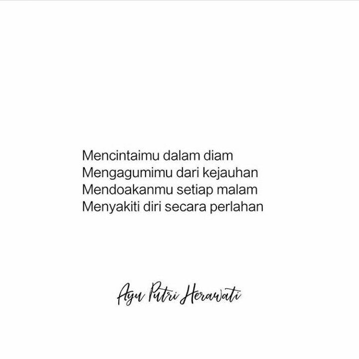 Ayu Putri Herawati Quotes Kata Kata Bijak Cinta Dalam Diam