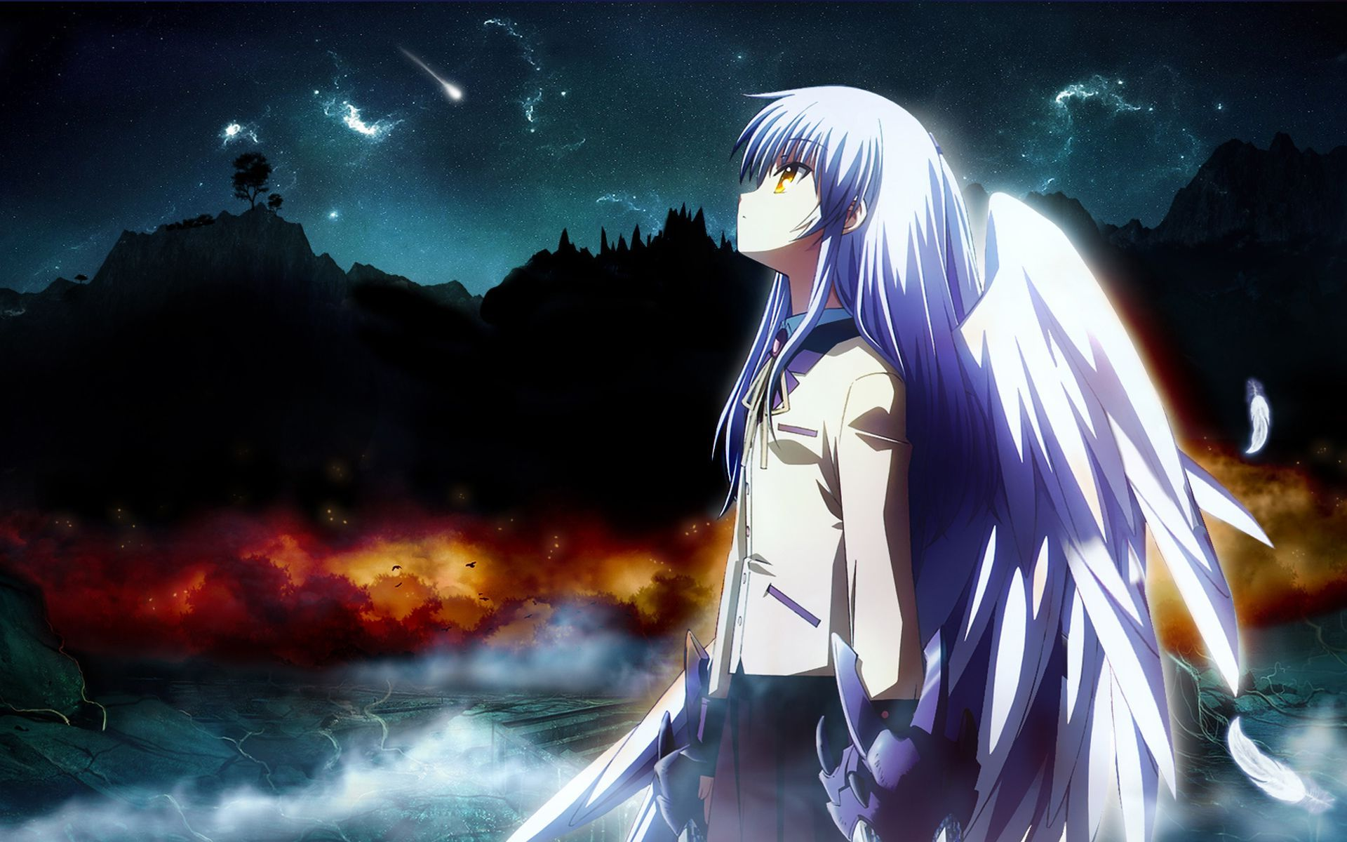 Angel beats kanade tachibana angel angel beats search results for angel beats wallpaper full hd adorable wallpapers voltagebd
