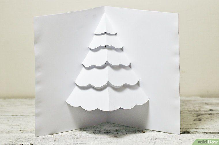 eine popup karte f r einen weihnachtsbaum basteln pop up. Black Bedroom Furniture Sets. Home Design Ideas