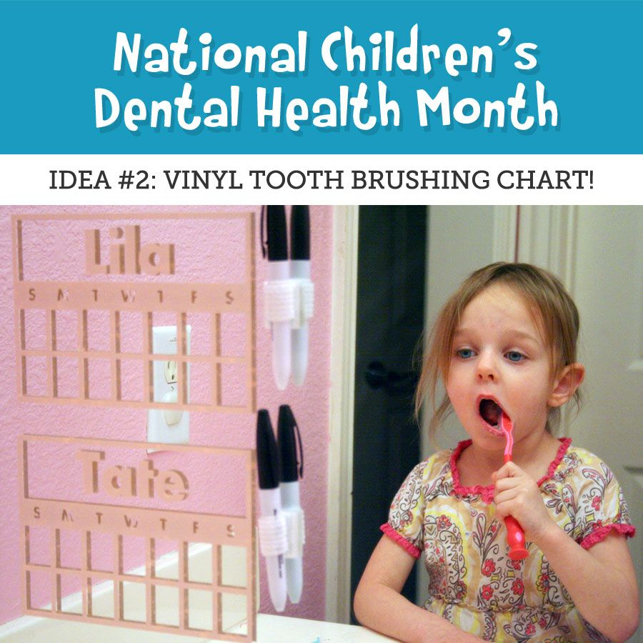 Its national childrens dental health month here is