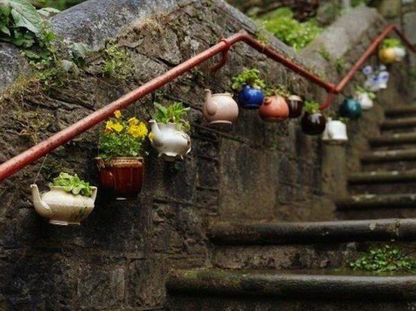 Eigenartige Treppengeländer Aus