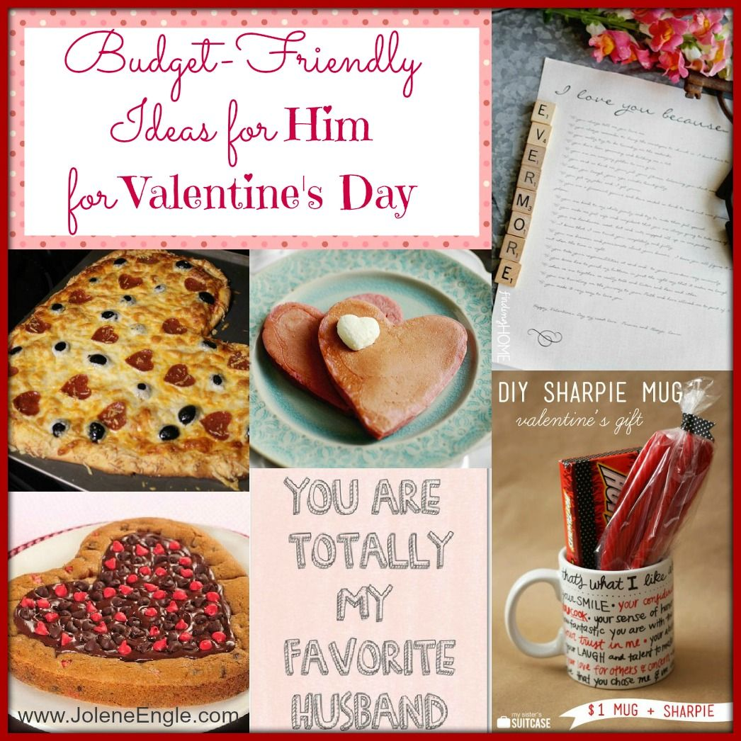 Budget Friendly Ideas For Him On Valentine S Day Valentine S Day Diy Valentine Gifts Valentines
