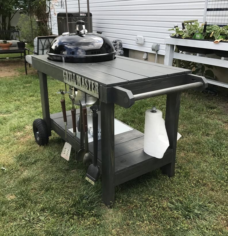 Pin By Tim Comerford On Weber Grill Table In 2020 Grill Table Weber Grill Table Weber Grill