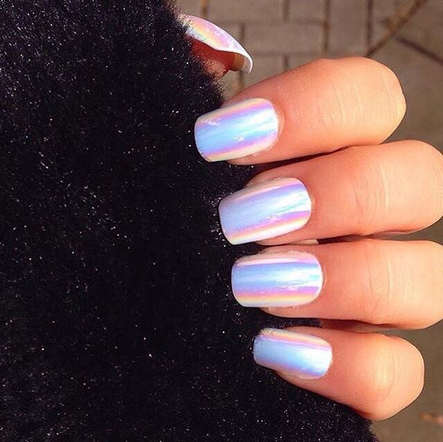 Holographic | Nails | Pinterest | Diseños de uñas, Manicuras y Arte ...