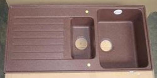 NEU* SCHOCK Spüle Art D-150 flächenbündig Spültisch 97,5 x 48 cm - spülbecken küche granit