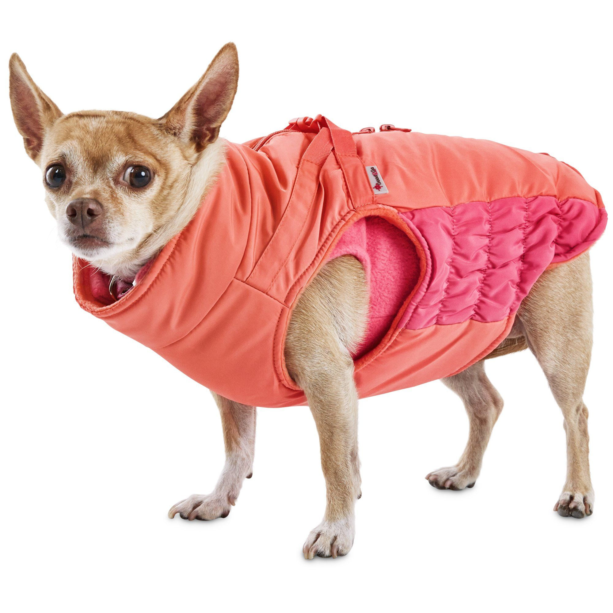Good2go Pink 3 In 1 Snowboard Dog Coat Wrap Your Pooch In The Ultimate Of Warmth And Slope Style With The Good2go Pink 3 In 1 Dog Coats Dog Vest Cute Animals