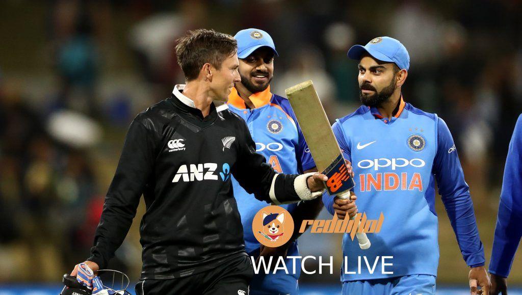 Watch New Zealand vs India 1st ODI Live Cricket Streaming