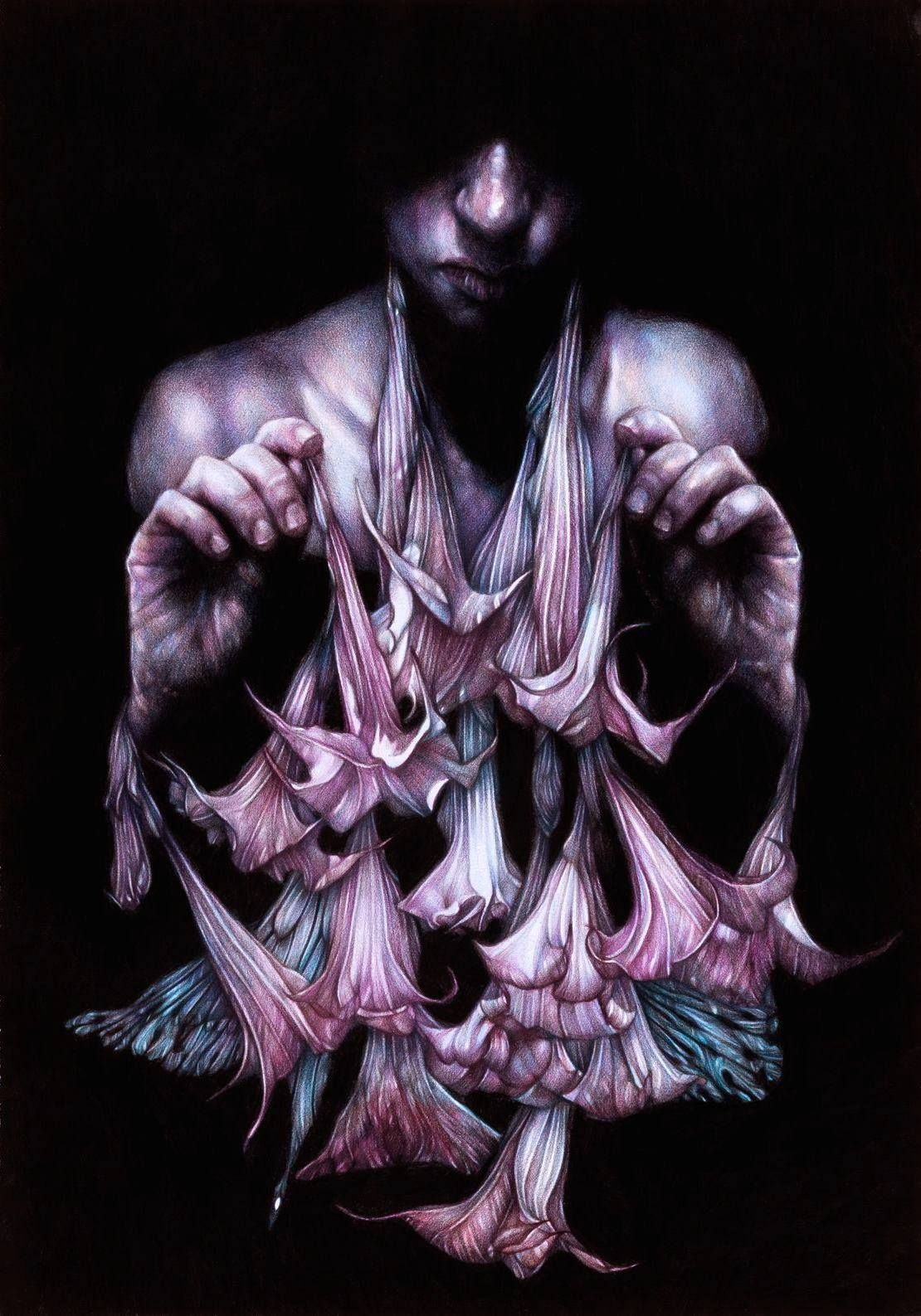 """""""The Necromancer"""" - Pencil drawing by Marco Mazzoni"""