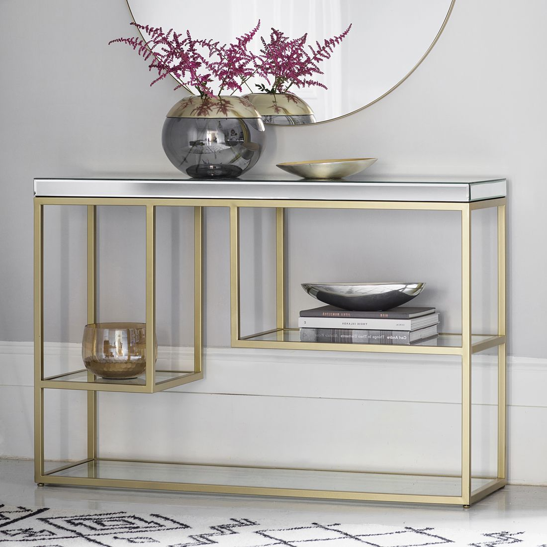 The Coolest Console Tables Designs Of The Moment Mirrored