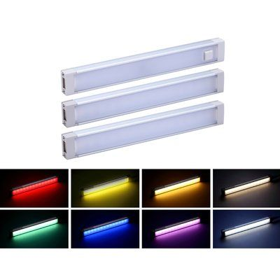 Pureoptics Led By Black Decker Led 6 Led Under Cabinet 1 Light Bar Bar Lighting Strip Lighting Color Changing Led