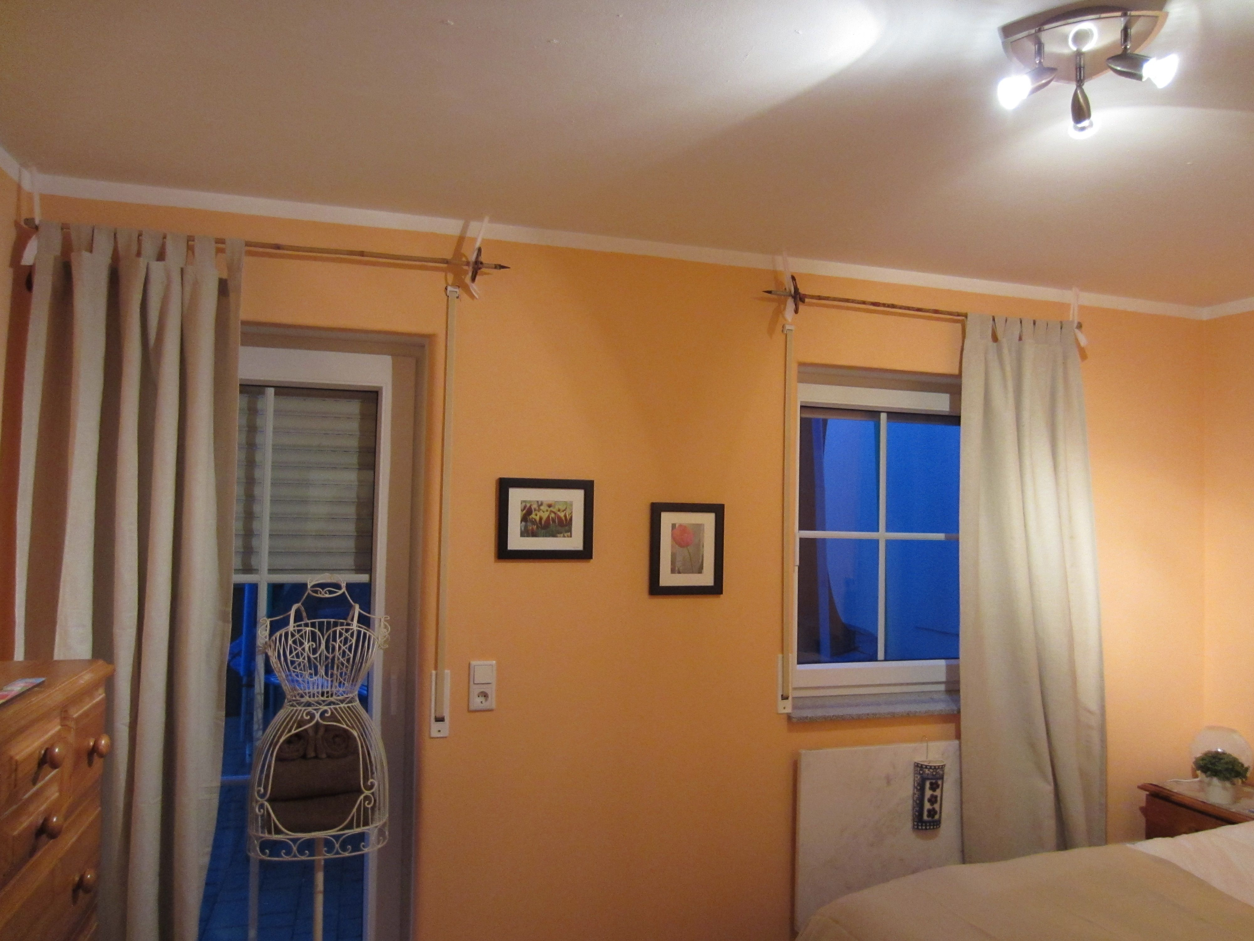 How To Hang Curtain Rods On Concrete Walls Www