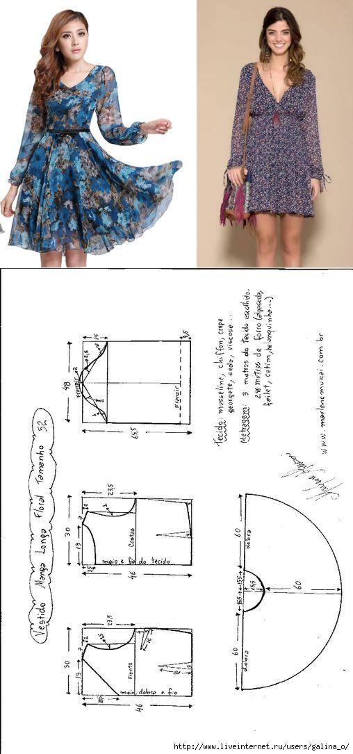Pin de Graciela en Patrones costura | Pinterest | Patrones, Costura ...