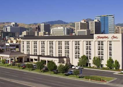 Hampton Inn Salt Lake City Downtown Hotel Ut