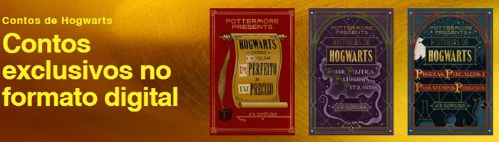 E-Books Harry Potter - Pottermore PT-BR
