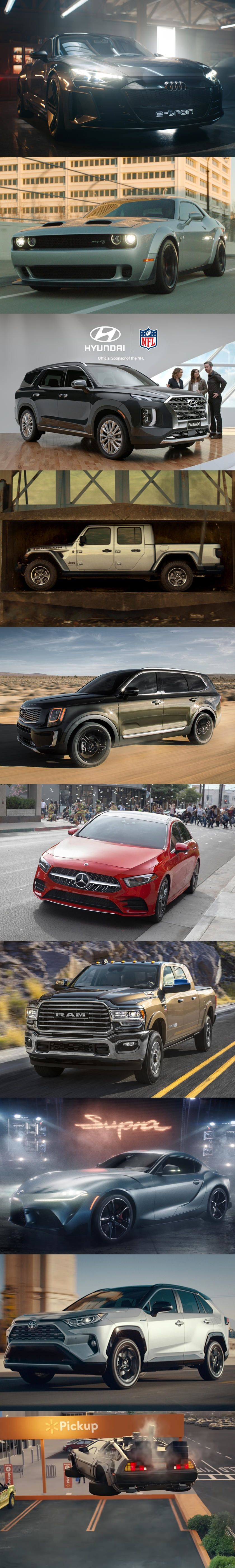 Here Are All The Cool Car Commercials From Super Bowl Liii Which Was Your Favorite Super Bowl Car Commercial This Ye Super Bowl Cool Cars Japanese Sports Cars