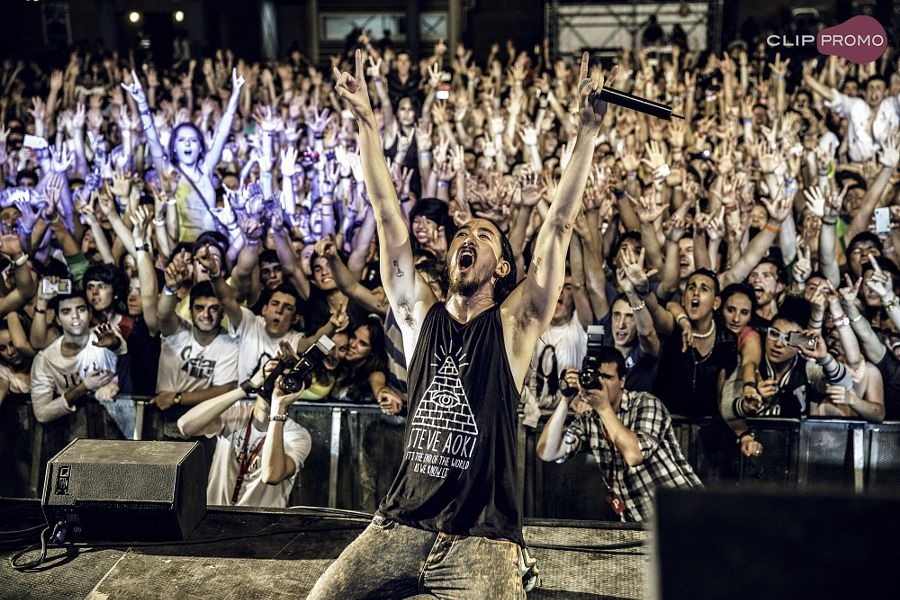 Steve Aoki  by Sergi Espinosa Moliner - Photo 33709979 - 500px