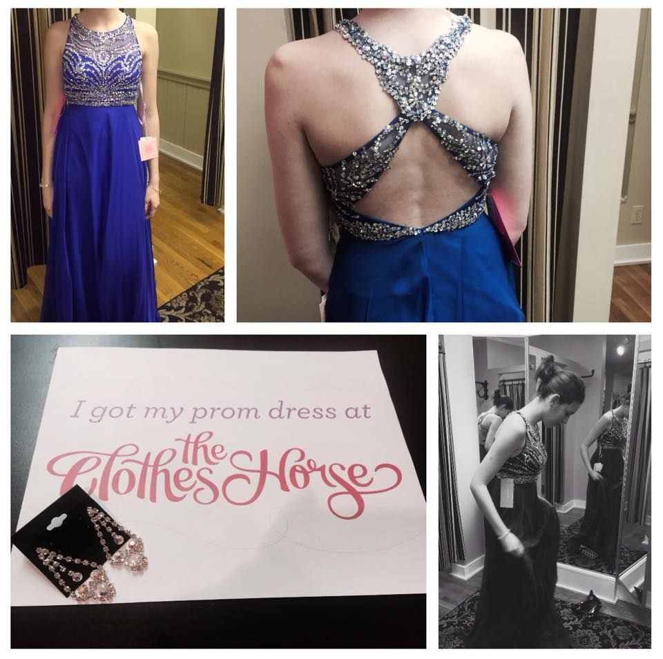 So happy for another happy girl and a great entry in our #ClothesHorseProm15 Sweepstakes. Post a photo to our Facebook page or tagging us on Instagram saying you bought your dress at The Clothes Horse and be entered to win your dress for free. #prom #prom2015 #promdress #promdresses #perfectprom #promshopping #OrchardPark
