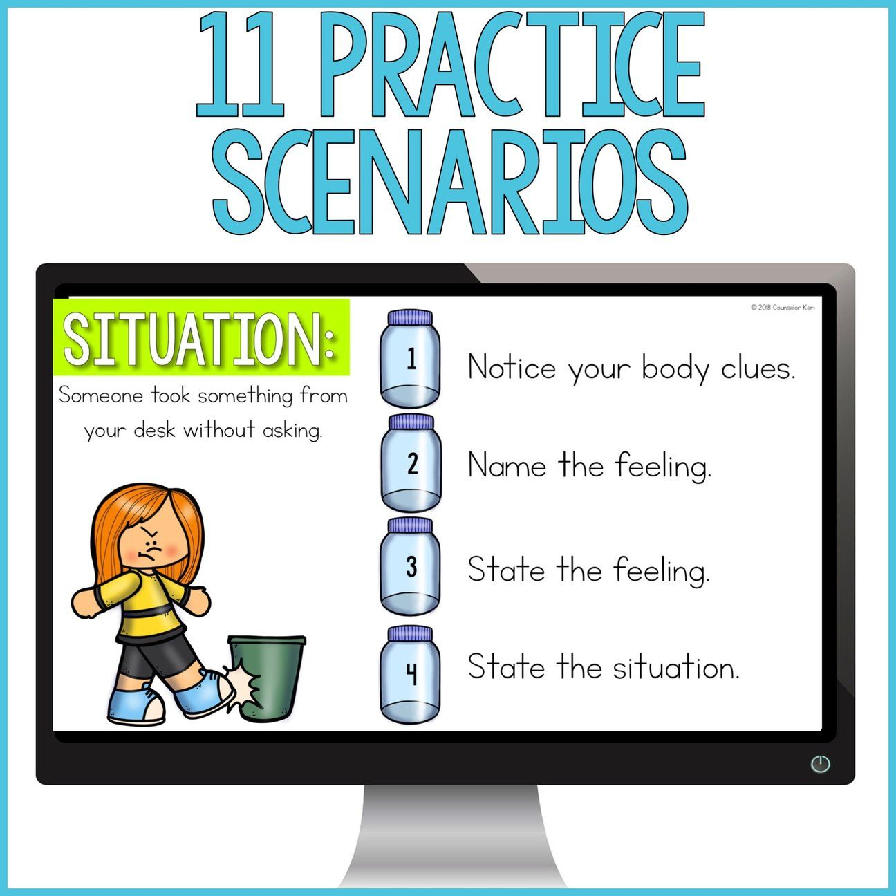 Expressing emotions activity classroom guidance lesson for
