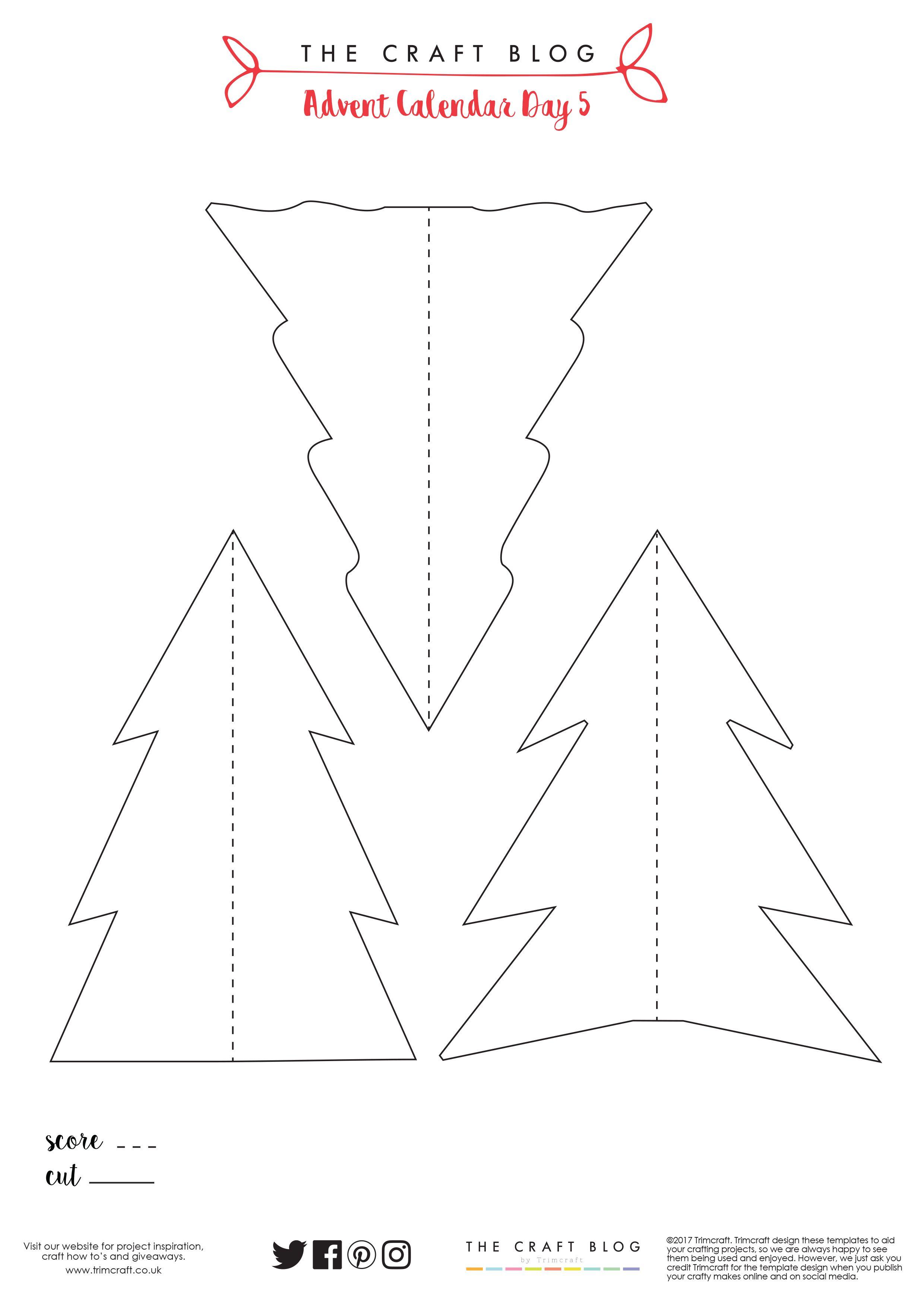 advent calendar day 5 super easy diy christmas tree homeChristmas Tree Advent Calendar Diagram #17