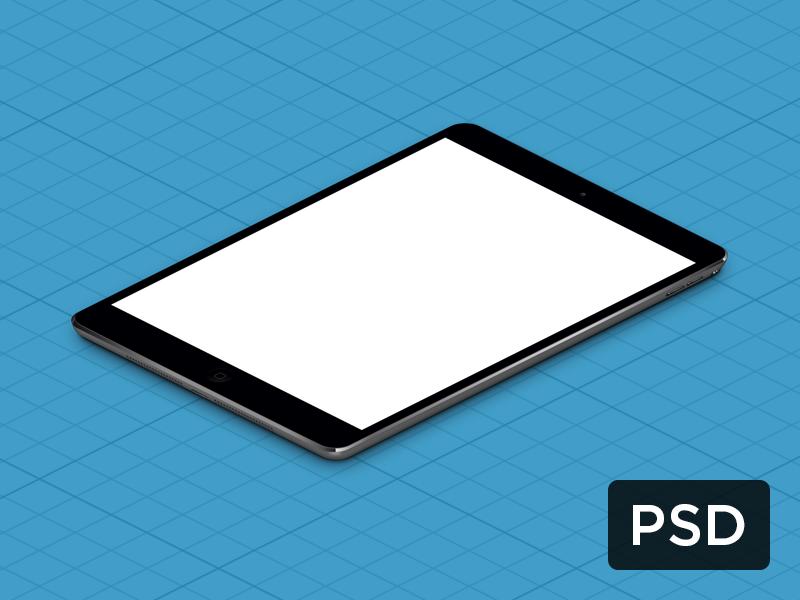 Ipad Mini True Isometric Psd Ipad Mini Ipad Isometric