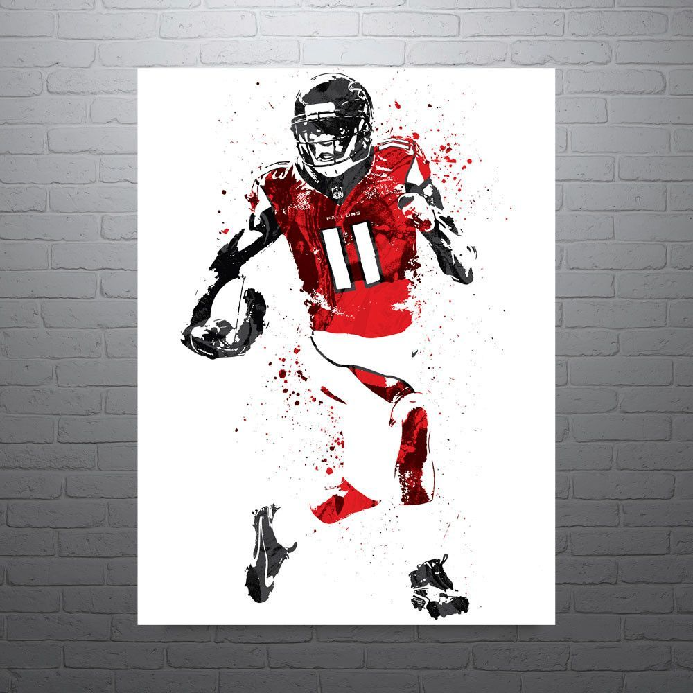 Julio Jones Atlanta Falcons Football Poster Atlanta Falcons Poster Atlanta Falcons Football Julio Jones