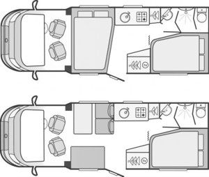Campervan Layout Ideas Google Search Campervan Interior