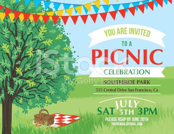 FREE Printable Picnic Invitation Party Printables – Picnic Invitation Template