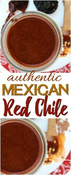 Photo of Authentic Mexican Red Chile Sauce – Rebooted Mom