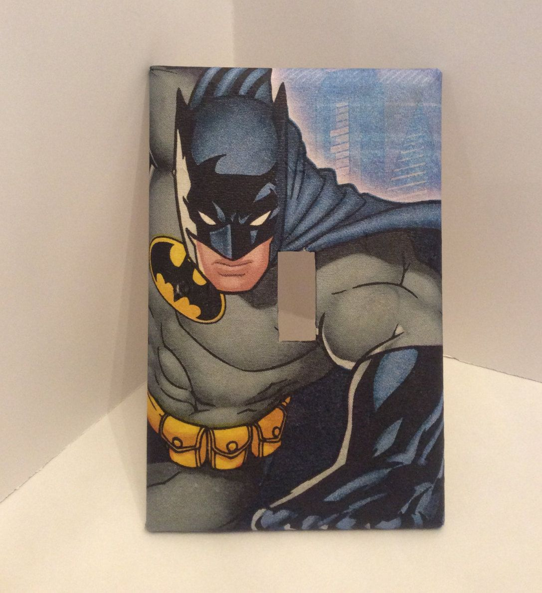 Batman Light Switch Cover Dc Comics Marvel Bathroom Plates Superhero
