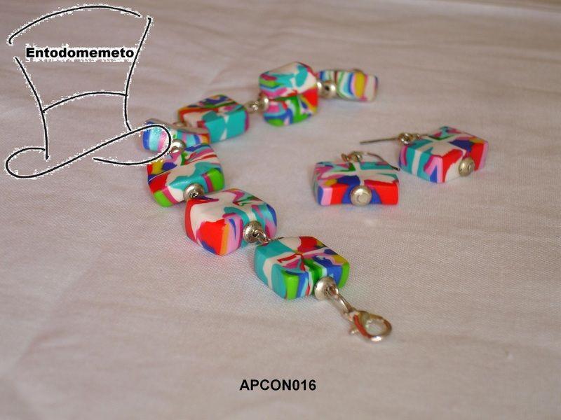 Conjunto Camuflaje Multicolor de Entodomemeto por DaWanda.com