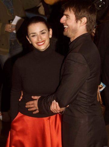 Old Loves Penelope Cruz Tom Cruise Celebrity Couples