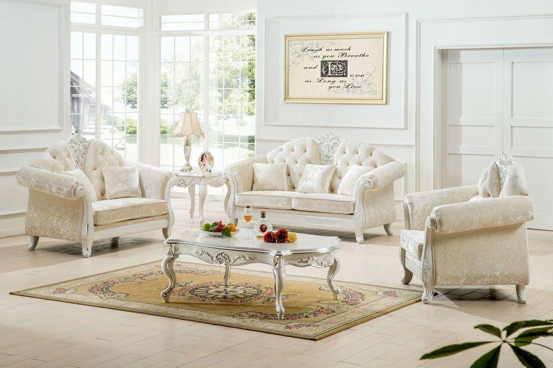 white living room set | See larger image | Denizen Interiors ...