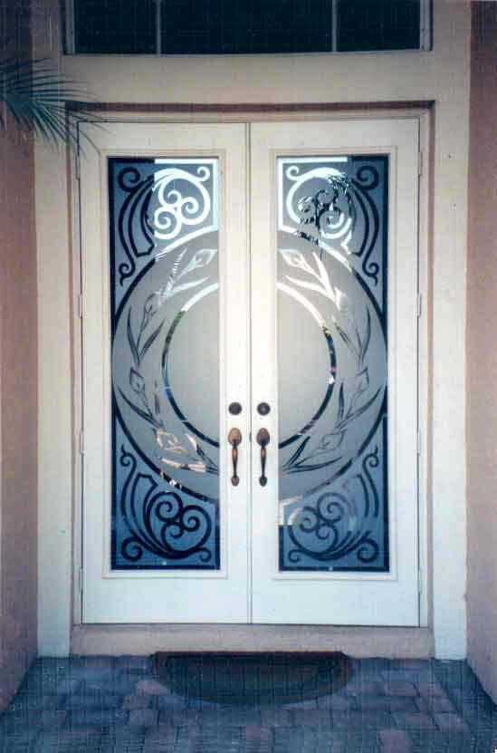 Pin By Tracey On Shut The Front Door Etched Glass Door Door Glass Design Glass Doors Interior