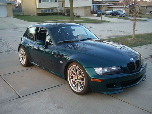 Green Z3m Coupe With Images Bmw Z3 Bmw Bmw Cars
