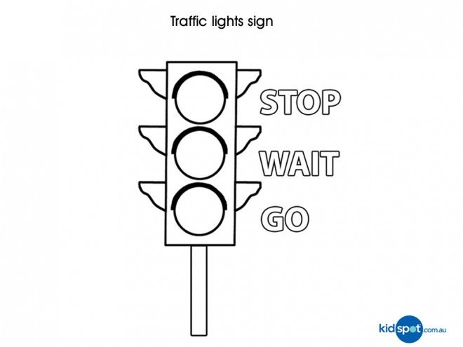 Free traffic sign colouring pages for kids - Parent Exchange 關於交通安全號誌的黑白列印稿