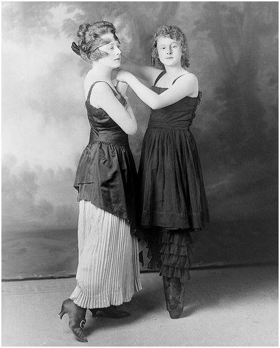Маскарадная зала - Дамская мода 1900-1914