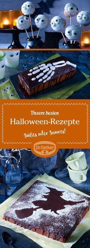 Unsere besten Halloween-Rezepte: Auf der Suche nach gruseligen Halloween-Party-R... -