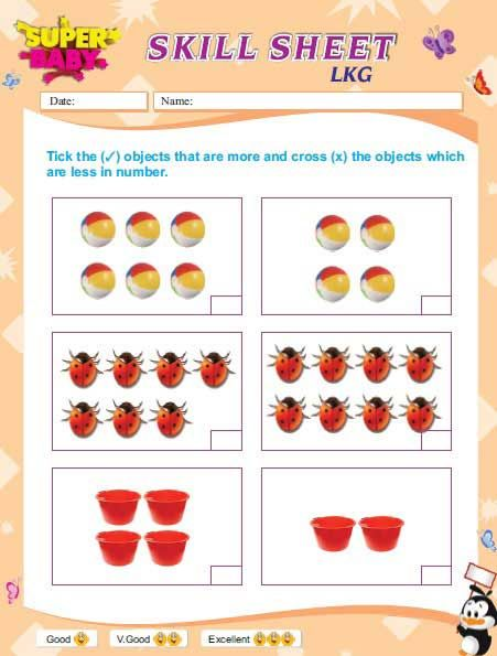 lkg worksheets free download - Yahoo Image Search Results | nubers ...