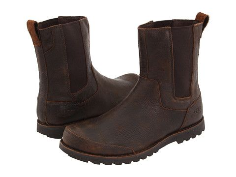 ab416f51613 Ugg Herrick Chocolate Leather. $103.99 | Men's Winter Boots in 2019 ...