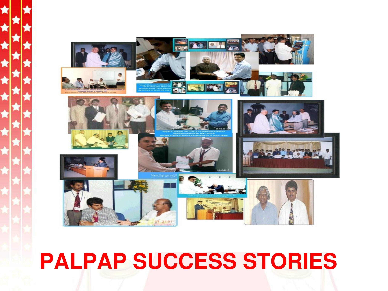 palpap 18th anniversary, Success stories, Development