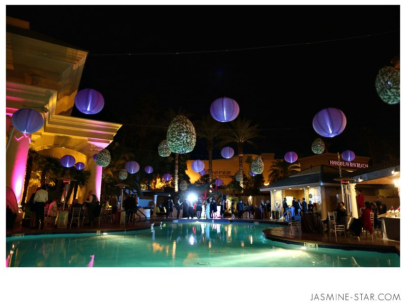The Pool At Four Seasons Hotel Las Vegas Turned Into A Hot After Party
