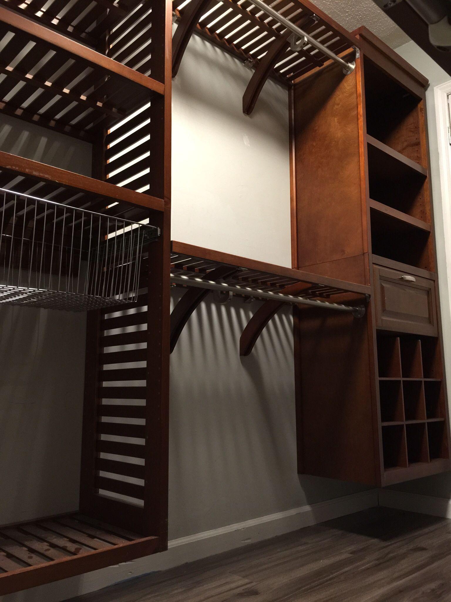 Lowes Closet Design : lowes, closet, design, Allen, Closet, Lowes, System,