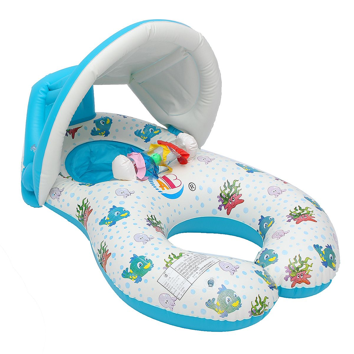 Sale 28% (16.99$) - IPRee™ Inflatable Mother Baby Swimming Ring Swim ...