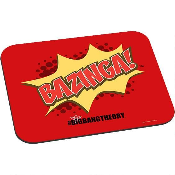 Exceptional This Big Bang Theory Mouse Pad Feartures Sheldonu0027s Catchphrase Bazinga!  This Mouse Pad Is Made