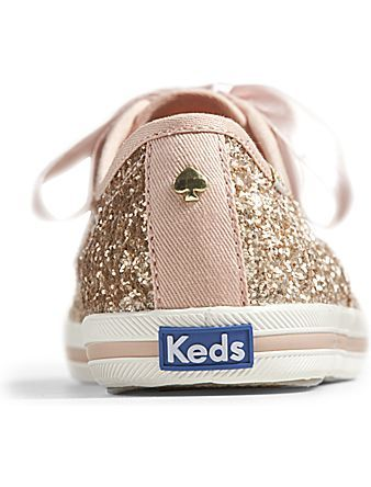 3f7bc82d0c2 Keds x kate spade new york Champion Glitter - Rose Gold Glitter ...