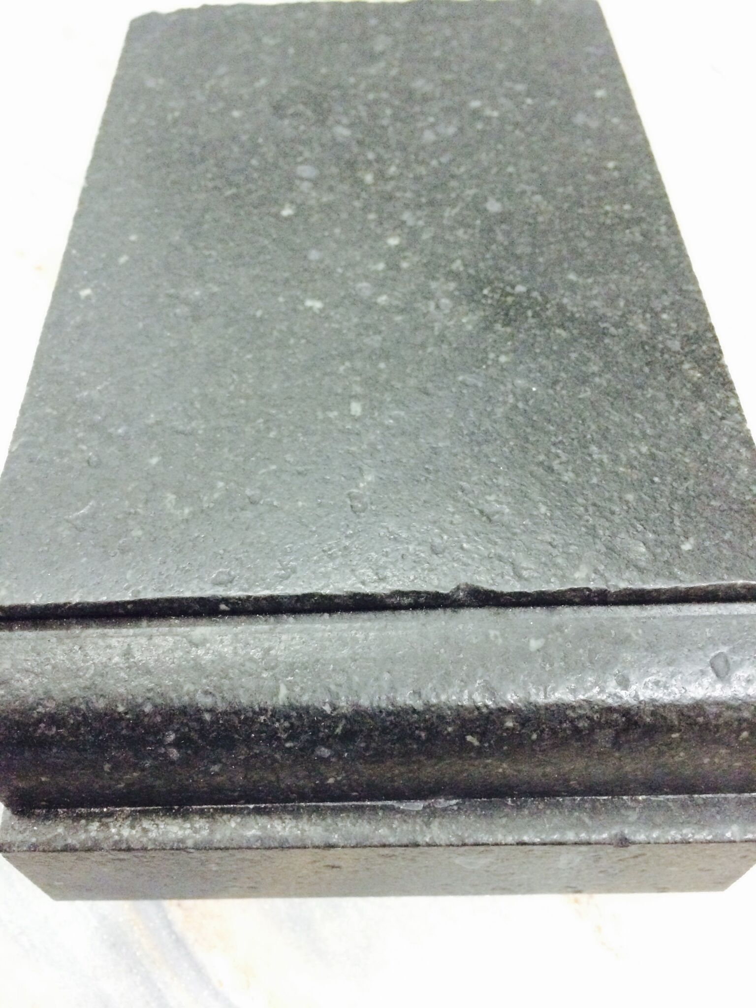 Attractive Leathered Finish Black Granite DuPont Square Edge Profile These Countertops  Will Be On Coffee Station And