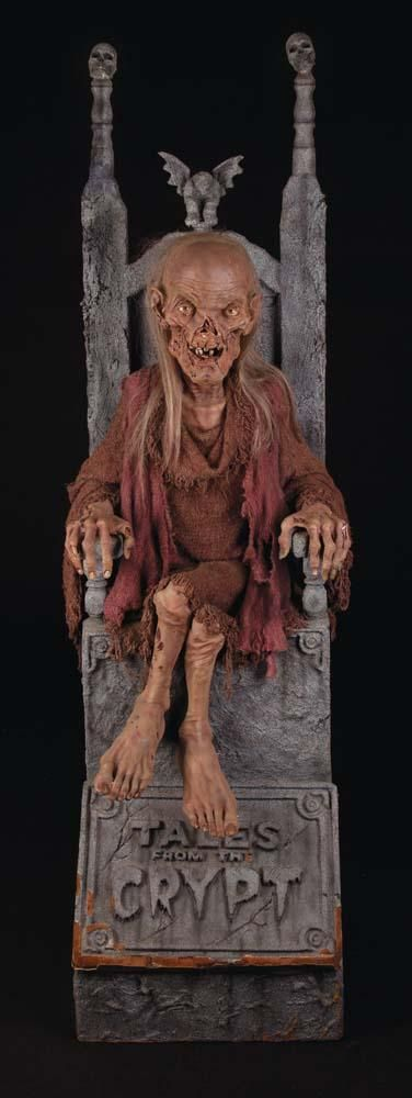 Cryptkeeper Chair And Cryptkeeper Model From Tales From The
