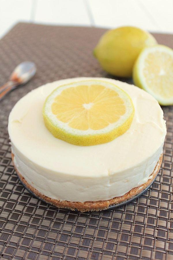 cheesecake au citron sans cuisson pinterest. Black Bedroom Furniture Sets. Home Design Ideas